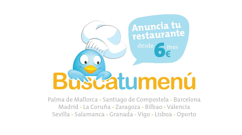 Publicidad online para restaurantes del proyecto Busca Tu Menú