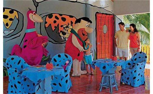 Sol Hoteles Flintstones para niños y familias
