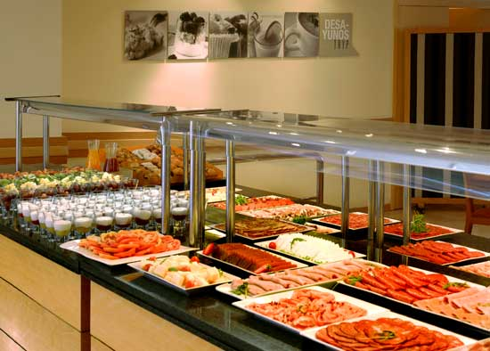 Buffet del Hotel Tryp Apolo