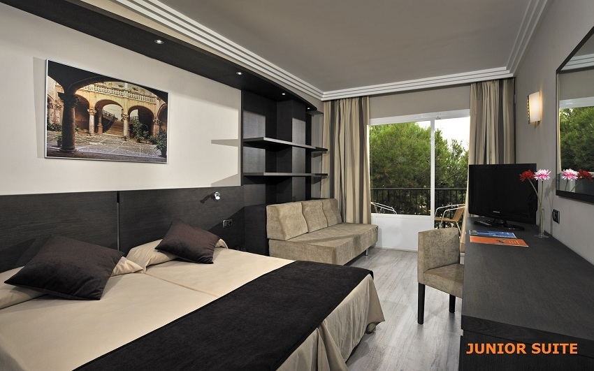Hotel Hawaii Mallorca, en las junior suites del hotel