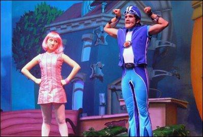 Lazy Town Hoteles, con todos los personajes de la serie