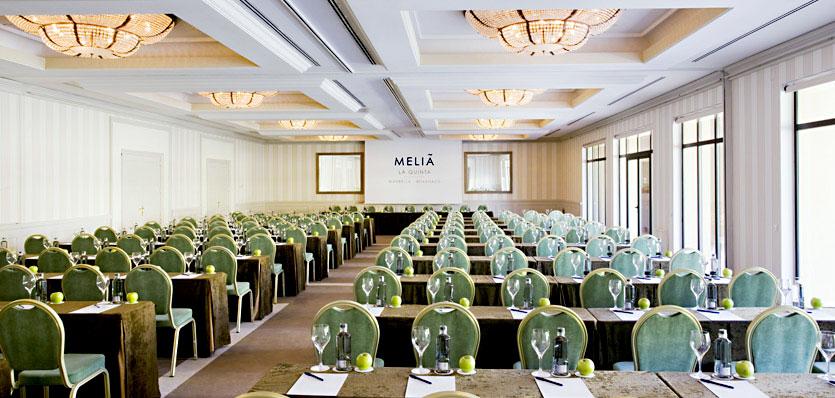 Melia La Quinta reuniones y congresos