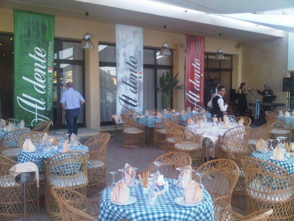 Hotel Marina Panorama, restaurante Aldente