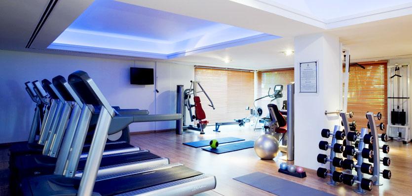 Free gym in Melia La Quinta Hotel