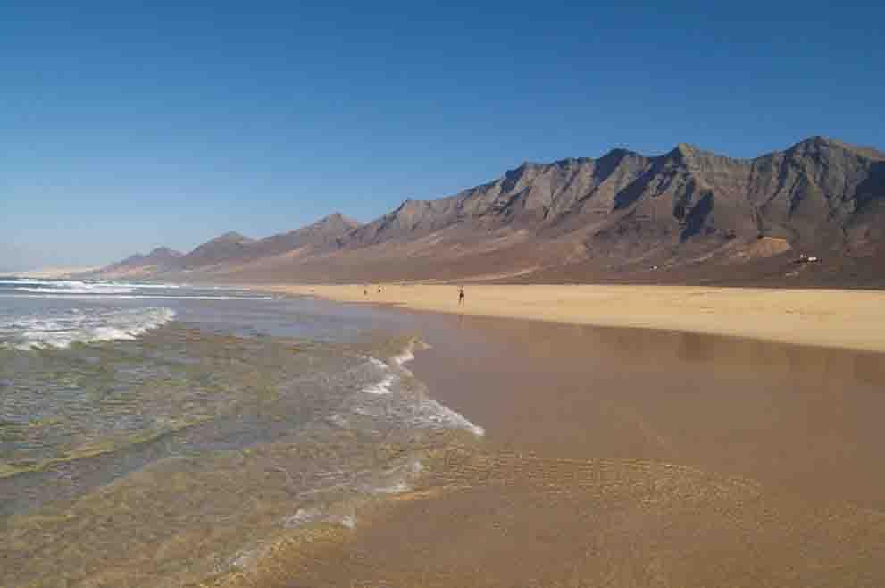Playa Cofete de Fuerteventura
