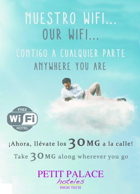 MIFI gratis, 30 MB para recorrer Málaga con wifi gratis